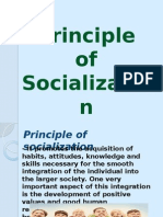 Principle of Socialization