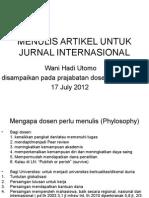 MENULIS-JI-PRAJAB-DOSEN-UB-Prof.-Wani-Utomo.ppt