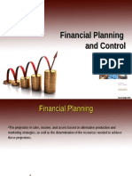 Financial Planning and Control