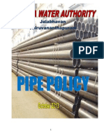 Pipe Policy in kerala