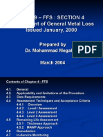 Section-4 Assessment of General Metal Loss API 579 – FFS
