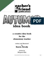 Scholastic Autumn Activities