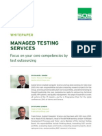 Managed Testing Services