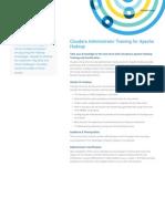 Administrator Training for Apache Hadoop
