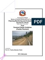 Pavement Design Guidelines (Flexible), Nepal