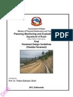 Pavement Design Guidelines (Flexible), Nepal