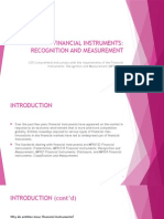 Financial Instruments (Recognition and Measurement)