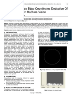Subpixel Accurate Edge Coordinates Deduction of Circular Object in Machine Vision