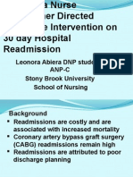 Abiera_Effect of NP Discharge on 30 Day Hospital Readmission This One 4-29-2015 This One.