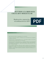4-Replicacion Reparacion y Recombinacion de ADN