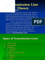 Theoery Transmission Line Theory