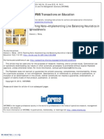 LineBalancingusing Excel