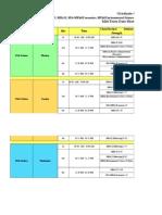 Mid Term Date Sheet