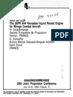 Motor cohete SEPR 84