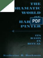 Katherine H. Burkman-The Dramatic World of Harold Pinter_ Its Basis in Ritual.-ohio State Univ Pr (Txt) (1971)