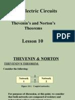 Lesson 10 Thevenin and Norton..