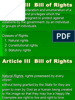 Pol Sci Lec Article III Bill of Rights