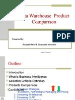 DW ProductComparison