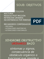 Sindrome-obstructivo- Urinario Bajo