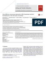 Teaching and Teacher Education Volume 36 Issue 2013 [Doi 10.1016_j.tate.2013.07.012] Richter, Dirk; Kunter, Mareike; Lüdtke, Oliver; Klusmann, Uta; -- How Different Mentoring Approaches Affect Begin