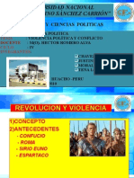 Violencia Politica y Conflicto
