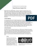 magnetic resonance imaging final draft