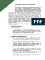 Normativas Reglamentos Derecho Minero