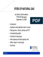 Lys Ark Gudmundsson Properties Natural Gas 2008