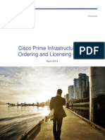 Cisco Prime Infra 2.1 Ordering Guide