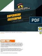 Superhero Sketchpad