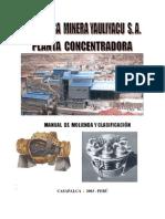 Manual de Molienda y Clasificacion de Minerales
