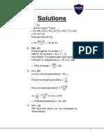 General Aptitude Solutions