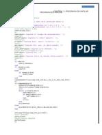 Programa en Matlab