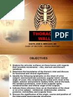 Thoracic Wall