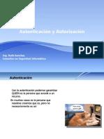 Presentacion Seguridad Informatica - Autenticacion