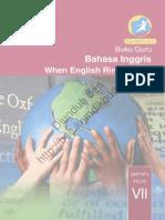 Bahasa Inggris, When English Rings a Bell (Buku Guru)