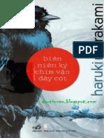 Bien Nien Ky Chim Van Day Cot - Haruki Murakami