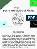 Basic Principles of Flight Chapter 4