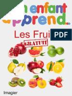 Mon Enfant Apprend Les Fruits Imagier