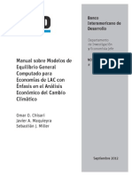 Bid General Equilibrium manual