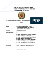 Monografia Funcion de La Pnp Segun El Ncpp