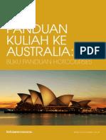PANDUAN KULIAH KE AUSTRALIA