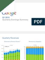 2015Q1 Google Earnings Slides
