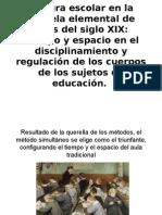 Historia de la Educación. Cultura escolar en la escuela elemental de fines del siglo XIX