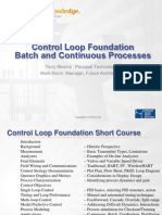 Batch and continuos process