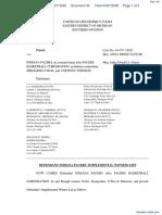 Haddad v. Indiana Pacers et al - Document No. 43