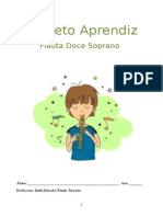 Apostila teórica - flauta doce - projeto aprendiz