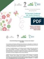 Invitación El Fairchild Challenge Del Jardín Botánico 2015