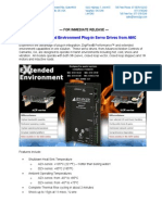 Extended Environment Plug-In Servo Drives From AMC New Product Press Release