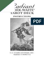 Radiant Rider-Waite Tarot Instruction